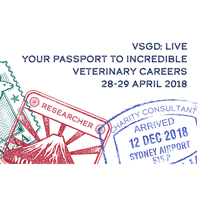VSGD Live passport stamp graphic