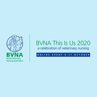 BVNA - This is Us 2020 - a celebration of veterinary nursing - 9th-11th October