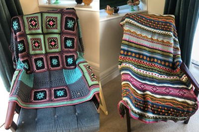 Two examples of crochet